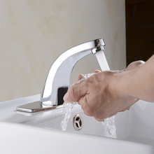 Автоматическая Чувство Холодной Кран для Кухни ванной бассейна экономии воды, электрический датчик Водопроводной Воды Водопад