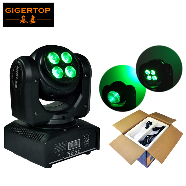 New Arrival Disco Mini Led Moving Head Light With Double Side Led Stage  Beam Wash Effect