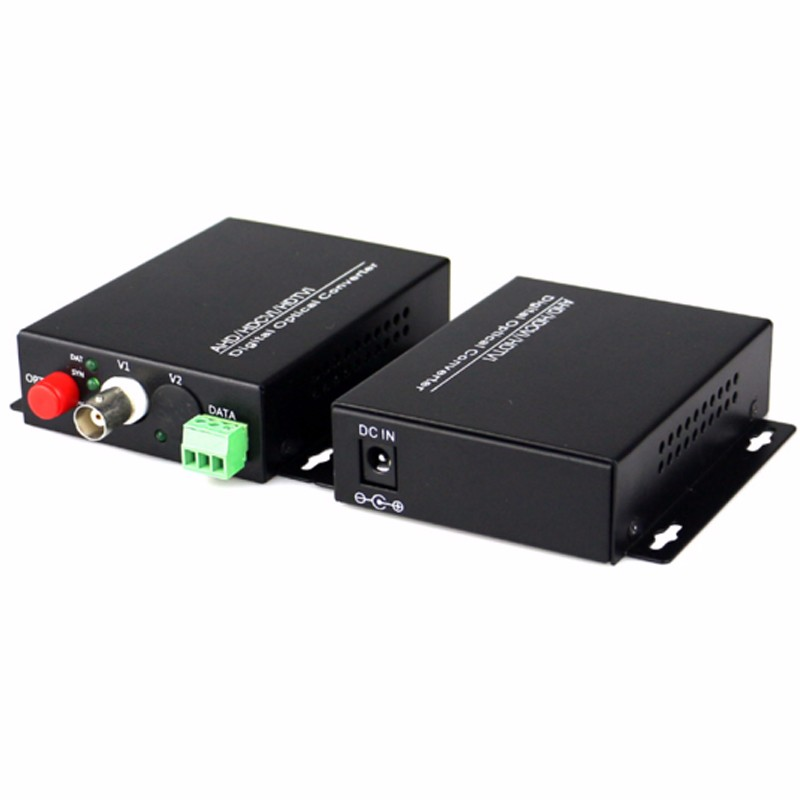 High Quality HD CVI 1 Channel Video Fiber Optical Converters +RS485 Transmitter Receiver -For 720P 960P AHD CVI HD Cameras CCTVHigh Quality HD CVI 1 Channel Video Fiber Optical Converters +RS485 Transmitter Receiver -For 720P 960P AHD CVI HD Cameras CCTV