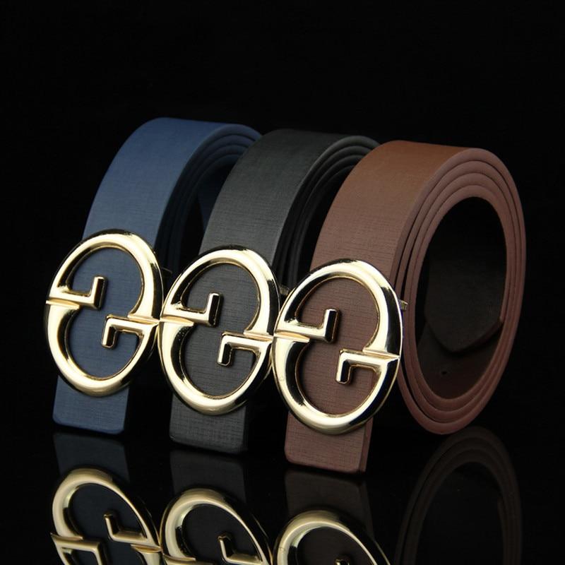 New Designer Belts Men Top Quality Luxury Casual Brand G