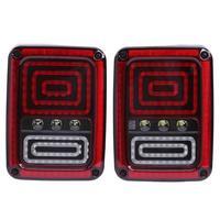 VODOOL 2Pcs Pair Car Vehicle Taillights Reversing Brake Signal Light Auto Car Tail Lamp Generation 2th