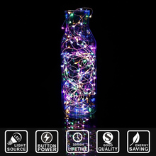 LED string light Copper wire lamp sky star decoration new year festival party home decoration light 1M 10 LED battery IY311140