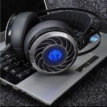 Original GS915 Gaming Headset LED Light Over Ear Game Headphone Vibration for PC Gamer Computer