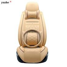 Yuzhe кожаный чехол автокресла для Toyota Honda Nissan Mazda Lexus джип Subaru MITSUBISHI SUZUKI KIA HYUNDAI SsangYong аксессуары