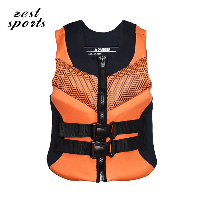 Professional Life Jackets/ Life Vest, Neoprene Surfing Rafting Snorkeling PFD Inflatable  Adult Child Life Jacket neoprene surfing floating life vest rafting snorkeling pfd inflatable kids women men life jacket swimwear swimming jacket life