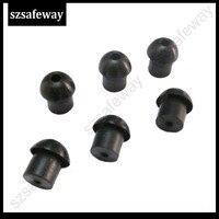עבור baofeng טוקי 10pcs / הרבה טוקי פטריות סיליקון אוזניית eartip עבור מוטורולה עבור האוזנייה צינור ערכת מעקב רדיו Baofeng שני בדרך (3)