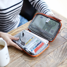 New Passport Cover Wallet Purse Waterproof Handy Travel ID Card Wallet Organizer Credit Card Holder Travel Storage Bag women wallet passport case cover wallet multicolor men zipper purse travel storage bag organizer bag card holder