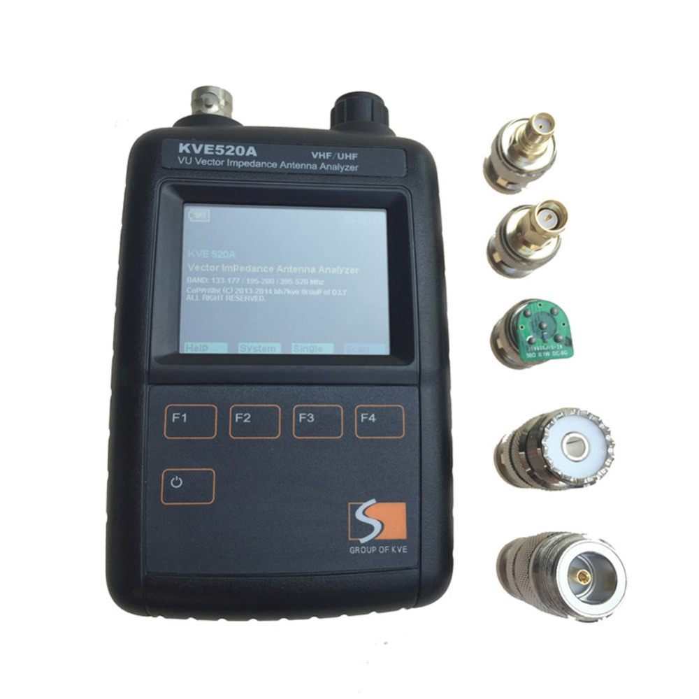 The New Antenna Analyzer KVE520A Has A Color Graphic Vector Impedance And Has Five Connector Intercom Accessories.