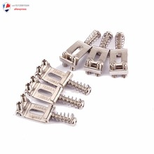 قطعات حرفه ای Tremolo Bridge Saddles Guitar Electric - 6 قطعه