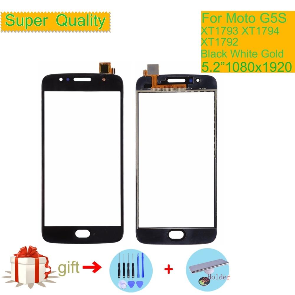 ORIGINAL For Motorola Moto G5S Touch XT1791 XT1792 XT1794 XT1795 XT1797 Touch Screen Digitizer Front Glass Panel Sensor
