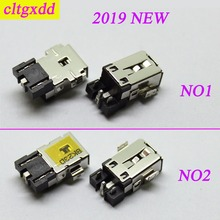 Cltgxdd nova chegada 2019 para conectores asus dc, conectores de tomada de energia 3.0*1.0mm para laptop, placa principal dc jack para lenovo ultrabook