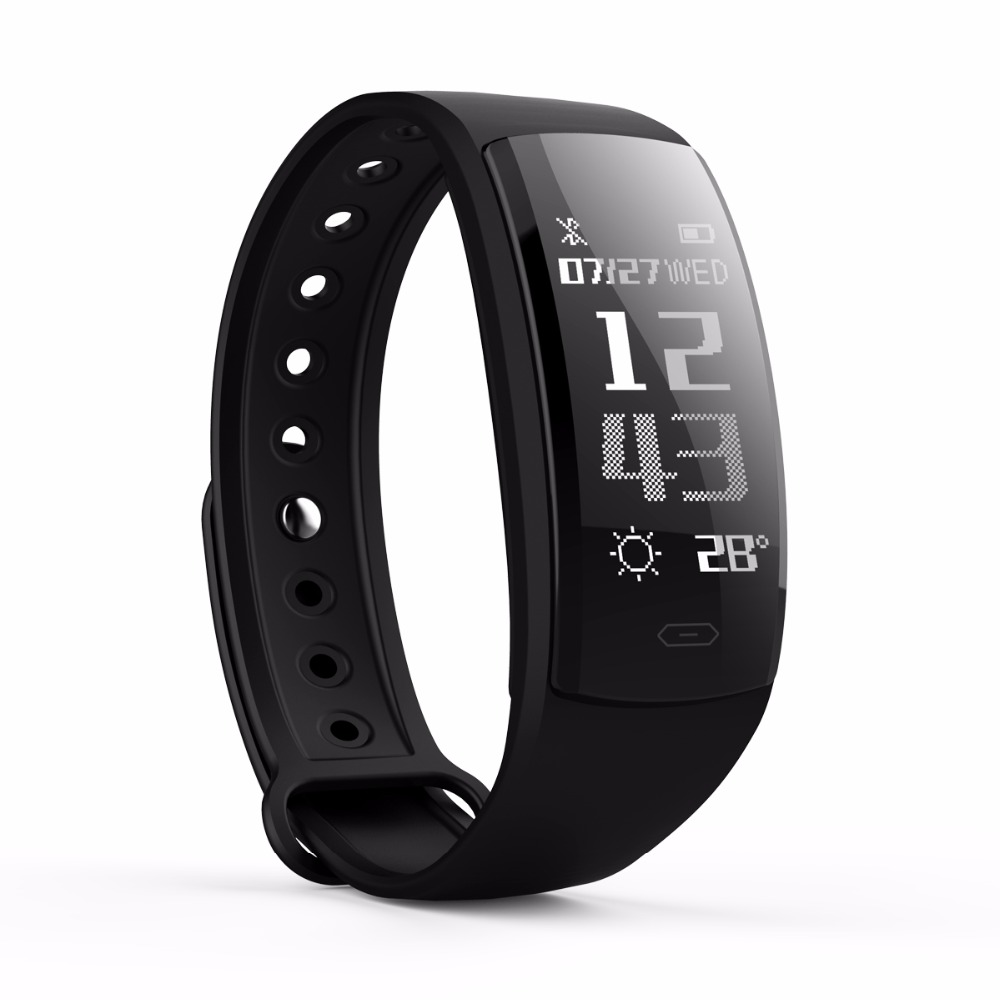 Wristband Fitness Tracker Call Message Weather Reminder Blood Pressure Heart Rate Monitor Camera Smart Bracelet Watch C3