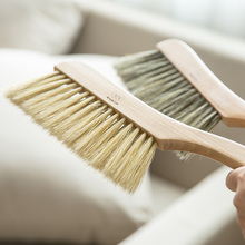Modern traditional wood series bristle brush handle housewife family use brush dust bed