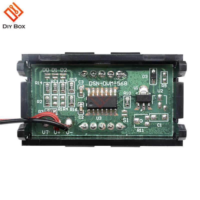 """0.56 """"Lcd-scherm DC Digitale Voltage Meter Voltmeter Batterij Capaciteit Volt Tester Detector 5V voor Elektronische Mobiele Power bank"""