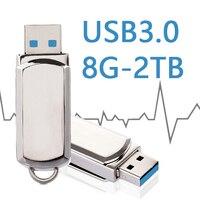 Metal High Speed USB 3 0 Flash Drive Mini Pen Drive 64GB 32GB Pendrive 16GB 8GB