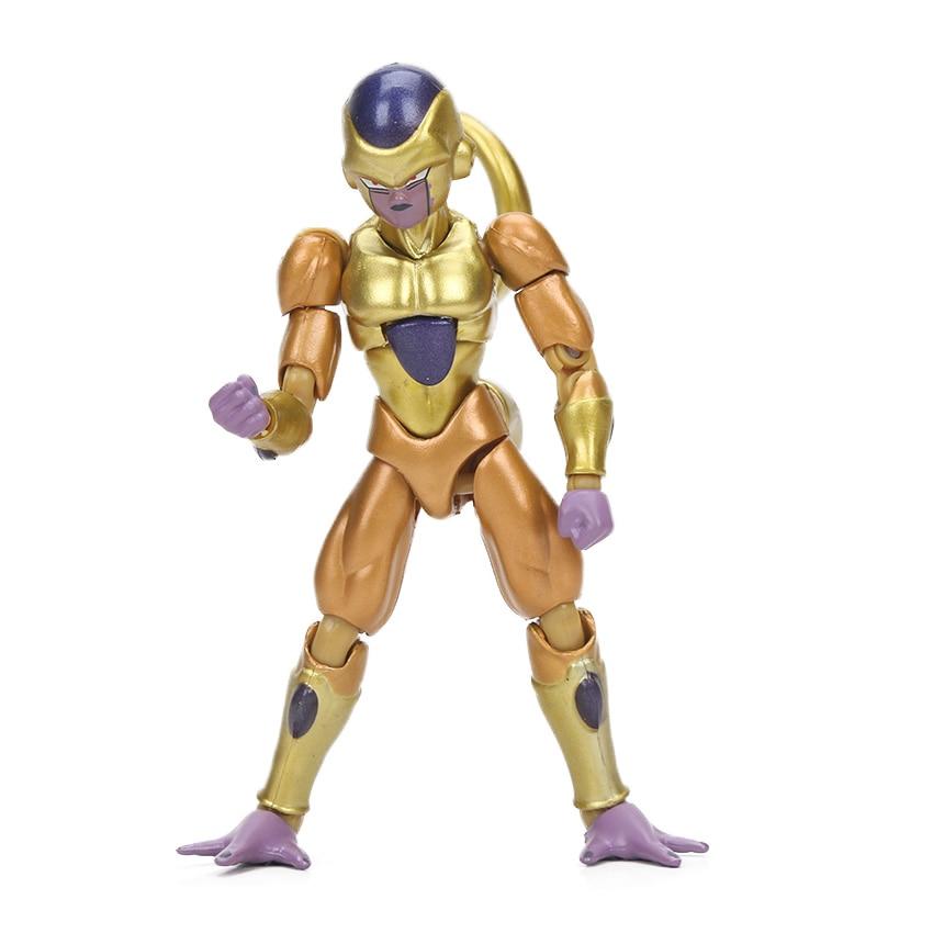 Dragon Ball Z Action Figure Gohan Goku Vegetto Vegeta Trunks Piccolo Freeza 18 with rotating joints 6