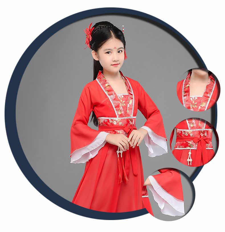 efde053d54d46 ... Girls Designer Kids 2019 New Arrival Beautiful Frock Long Flare Sleeve  Child Costume Dresses Christmas Girl ...