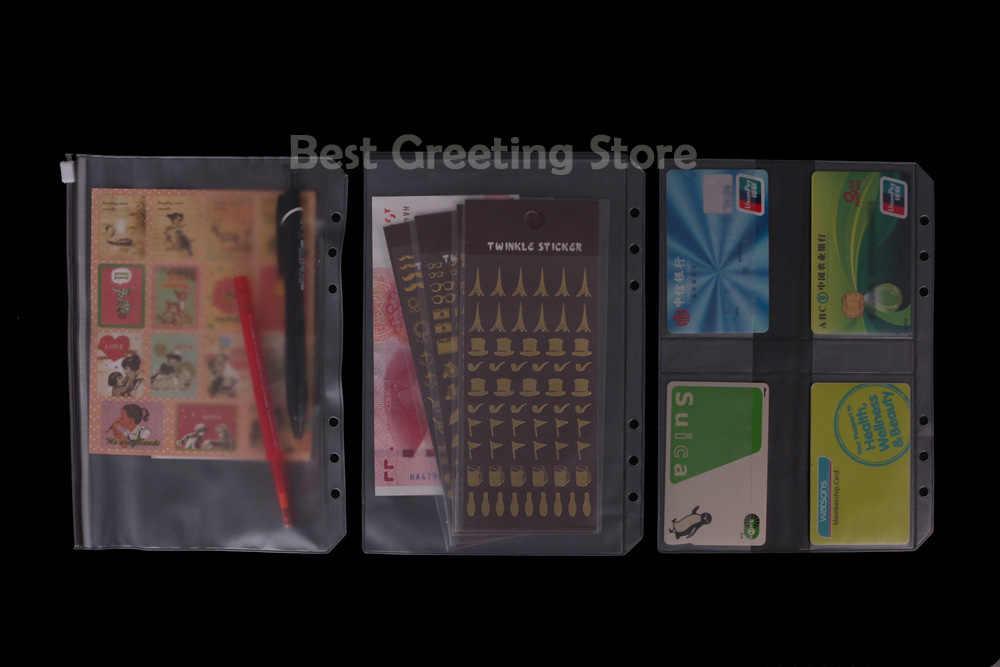 graphic regarding A5 Planner Binder named A5 Planner Binder Filofax Equipment - A5 Organization Card Refills,Storage,Zipper Pouch Bag