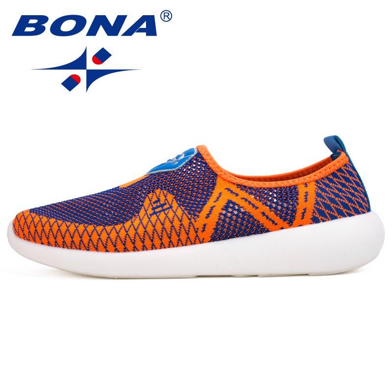 BONA nouveau Style populaire hommes chaussures de marche maille hommes chaussures de sport en plein air Jogging baskets confortable hommes chaussures livraison gratuite