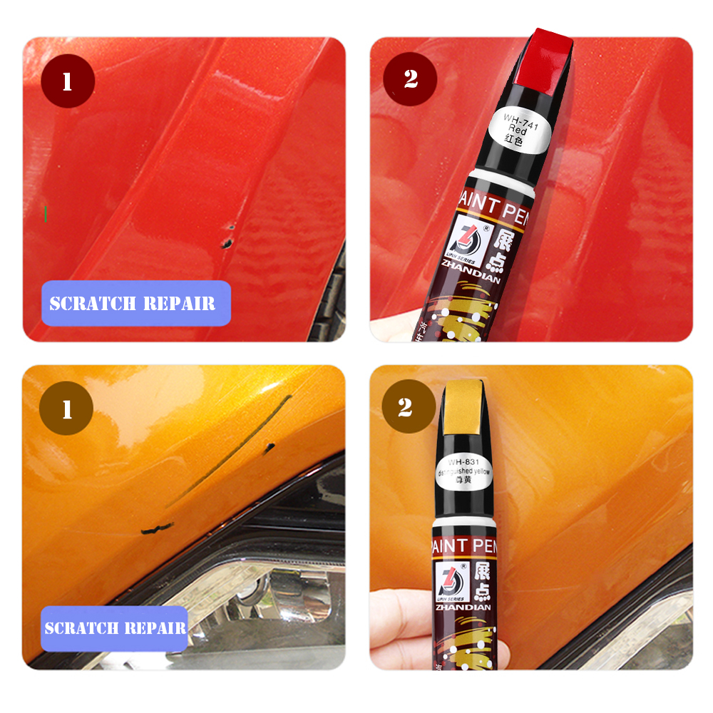 Image 5 - Professional Car Auto Coat Scratch Clear Repair Paint Pen Touch Up Waterproof Remover Applicator Practical Tool-in Painting Pens from Automobiles & Motorcycles