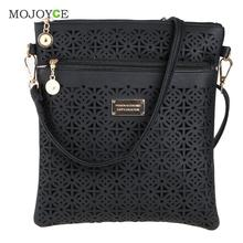 Luxury Handbags Women Bags Designer Hollow Out Women Messenger Bags Shoulder Crossbody Bag Women Leather Handbags Bolsa Feminina cheap MOJOYCE Flap None Polyester Single Fashion Versatile zipper Interior Slot Pocket Soft Solid Polyester(Lining Material color send as random)