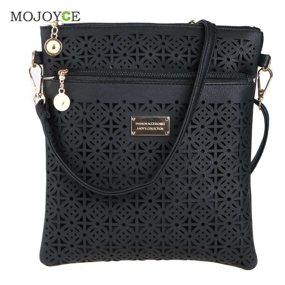 Luxury Handbags Women Bags Designer Hollow Out Women Messenger Bags Shoulder Crossbody Bag Women Leather Handbags Bolsa Feminina joyir vintage women messenger bag designer genuine leather handbags crossbody bags for women shoulder bag bolsa feminina 8602