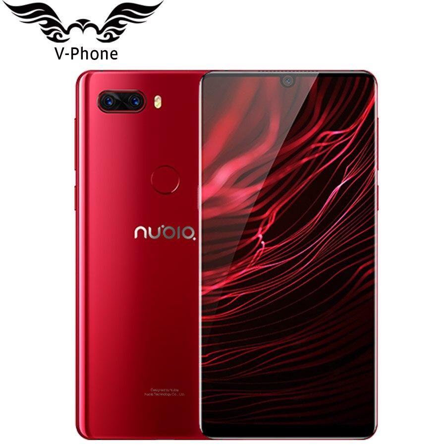 "ZTE Nubia Z18 8 GB 128 GB 128 GB โทรศัพท์มือถือ 4G LTE 6 ""Snapdragon 845 Android 8.1 16MP 24MP กล้องด้านหลังคู่ลายนิ้วมือ Face ID-ใน โทรศัพท์มือถือ จาก โทรศัพท์มือถือและการสื่อสารระยะไกล บน AliExpress - 11.11_สิบเอ็ด สิบเอ็ดวันคนโสด 1"