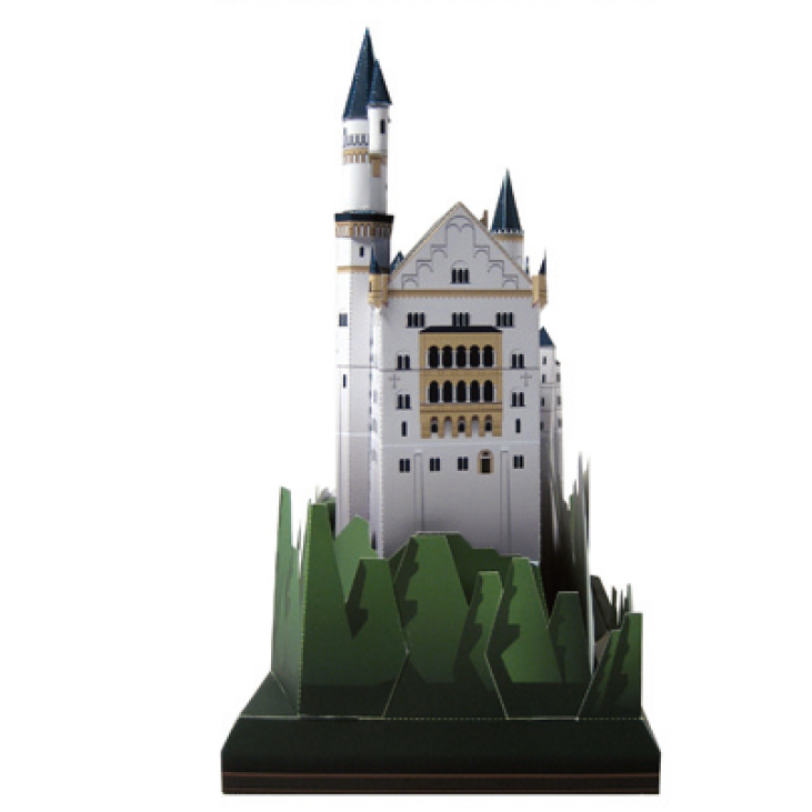 ... Germany Craft Paper Model Architecture 3D DIY Education Toys Handmade  Adult Puzzle. sku  32844162778 890d98de9035