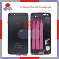 high quality For IPhone 6 Plus Full Housing Assembly Back Cover Battery with Sim Card Tray + Buttons+ Flex Cables