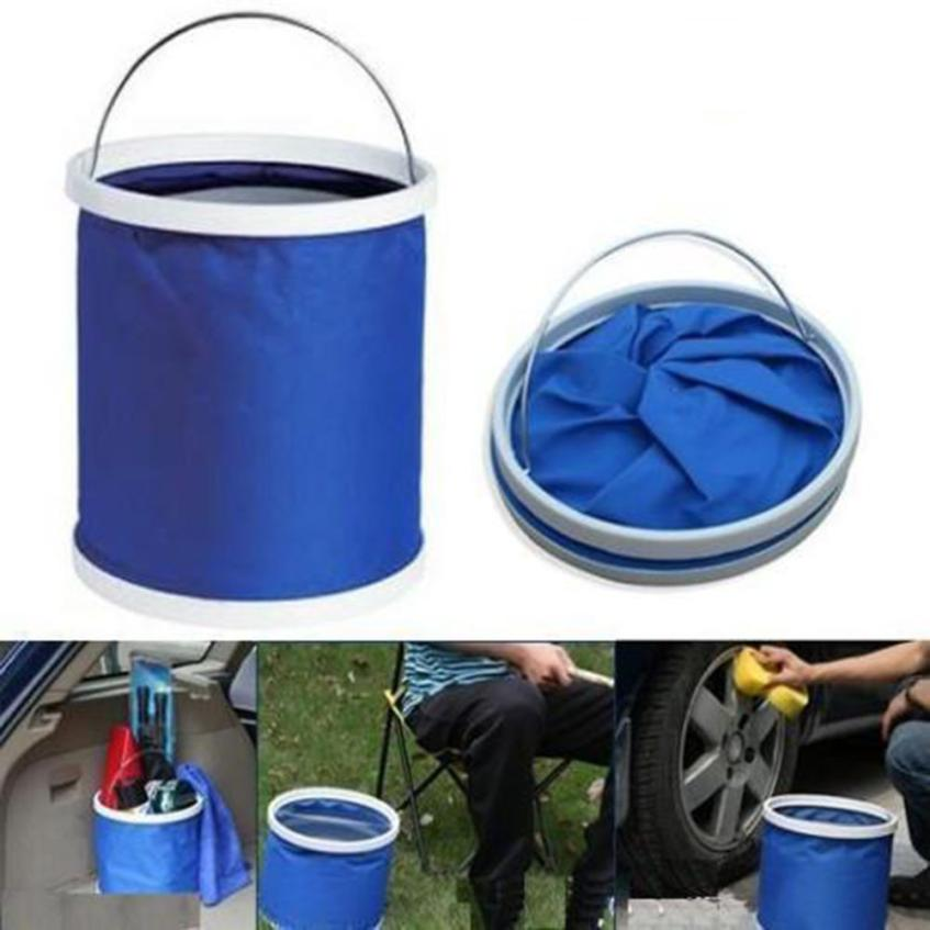 New Arrival Collapsible Bucket Barrel Water Container Outdoor Camping Fishing font b Car b font Folding