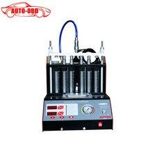 Neueste CT200 6/4 zylinder Auto Motorrad Auto Ultraschall-reinigung Injector Tester maschine 220/110 V Besser als Starten CNC602A