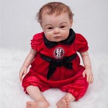20″ real baby-reborn dolls toys 100% handmade soft body silicone vinyl dolls creative children lover gift boneca reborn
