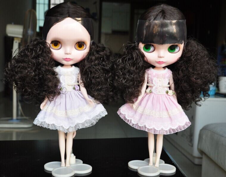 ФОТО Blyth doll, black hair, DB1