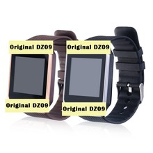 Silver and Gold color smart watch Original DZ09 sport fitness monitor clock bluetooth 4.0 support SIM Card for iPhone 6s plus