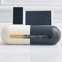Creative dome collection box Cablebox Power wire cable box Oval telescopic power storage box 430*135*125mm
