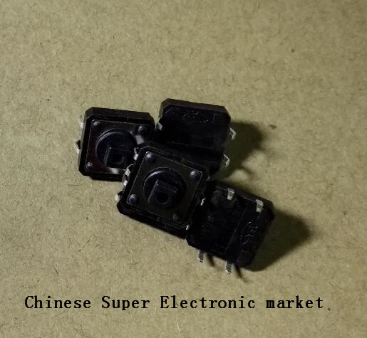 100 Pcs Tátil Botão Interruptor Momentâneo 12*12x12 12*7.3 MM x 7.3mm Micro botão interruptor DIP