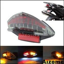 Zintegrowane światło tylne LED w/kierunkowskazy dla BMW F800S K71 F800ST K71 F800GT K71 09-12 F800R K73 światła stopu motocykla