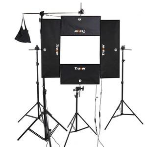 Image 3 - Travor להגמיש Headshot וידאו אור צילום תאורה ניתן לעמעום כוח גדול 100 W 5500 K CRI95 עם 2.4G אלחוטי מרחוק שליטה