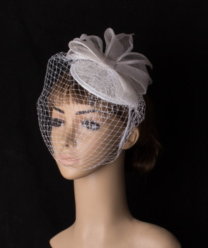Attractive Brial Wedding Veils Fascinator Hats With Women Party Veils Headpiece Events Hair Accessory Wedding Headwear