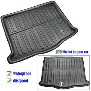 Image 2 - Car Boot Liner Cargo Tray For Ford Focus MK4 4 MKIV Hatch Hatchback 2019 2018 Boot Rear Trunk Floor Mat Carpet Accessories