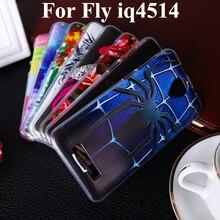 Soft TPU Phone Case For Fly IQ4514 quad EVO Tech 4 IQ 4514 tech4 5.0 inch Phone covers shell Bags Housing high quality