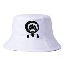 One Piece Luffy Straw Hat Pirate bucket hat fashion outdoor fishing cap Leisure fisherman hat sun Basin cap saf 2016 new unisex dressing up white skull pattern pirate bucket hat cap