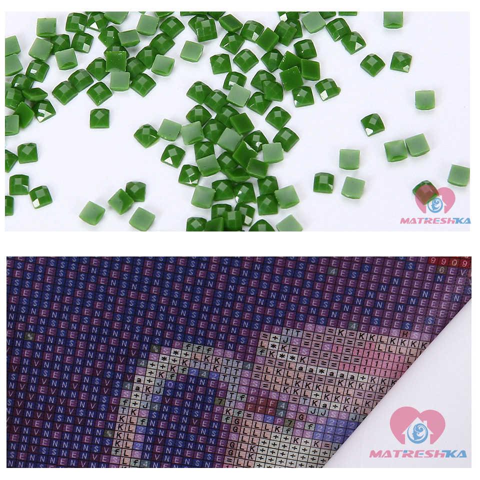 Diy のダイヤモンド塗装完全にクリスマスカード漫画アイスクリームアイコン針仕事ラウンドフル平方ダイヤモンド刺繍販売