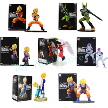 Dragonball Dramatic Showcase Figure Gokou Gohan Cell Frieza Trunks Kakarotto DBZ Anime Collectible Model Toys