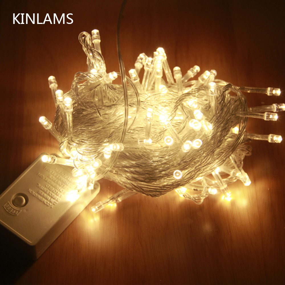 10m Rgb Led String Light Christmas Lights Indoor Outdoor