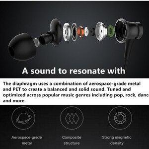 Image 5 - أحدث إصدار 100% من سماعات شاومي Mi الأصلية مكبس 3 إصدار جديد داخل الأذن مع ميكروفون سلك تحكم للهاتف المحمول
