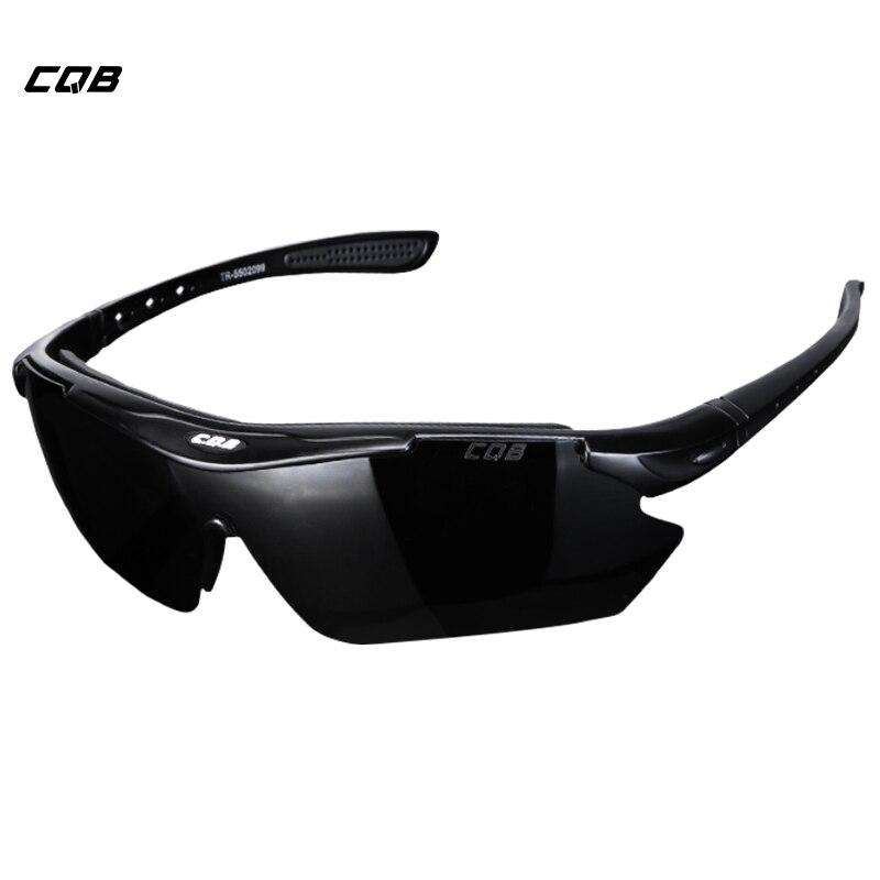 CQB Outdoor Climbing Polarized Sunglasses Tactical Eyewear Men HD Hiking Fishing Cycling Glasses Shooting Glasses