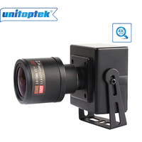 Full HD 1080P 2.0MP 25fps Mini IP Camera ONVIF 2.8-12mm Manual Varifocal Zoom Lens P2P Plug and Play With Bracket PC Moblie View