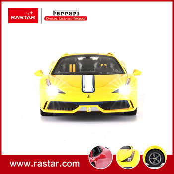 Rastar licensed 114 Ferrari 458 speciale A toys for children one key to open the door coches radio controlled cars 74500 radio-controlled car