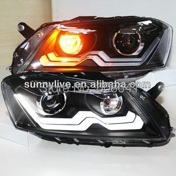 Pour VW Magotan Passat B7 LED lampe frontale 2012-13 ans Version européenne